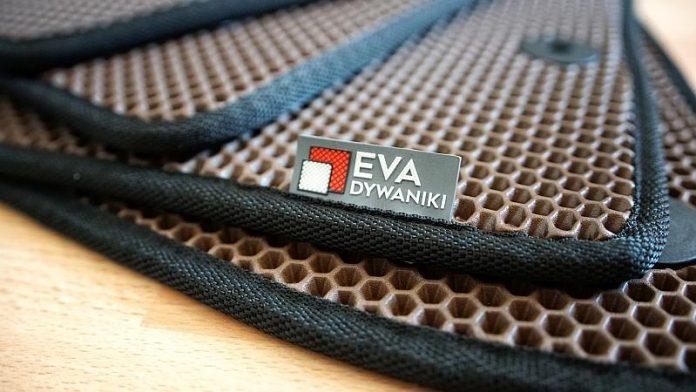 Dywaniki EVA - zbliżenie