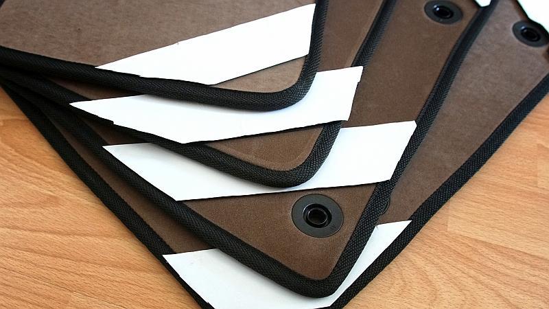 Zabezpieczenie rzepów - dywaniki EVA
