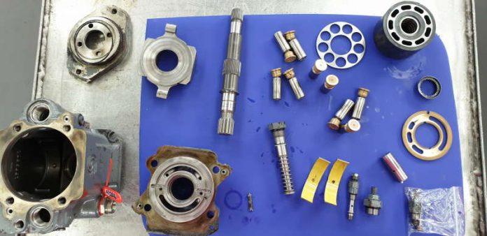 Regeneracja i naprawa pomp hydraulicznych
